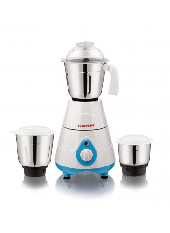 Sowbaghya Coral Mixer Grinder-White Color